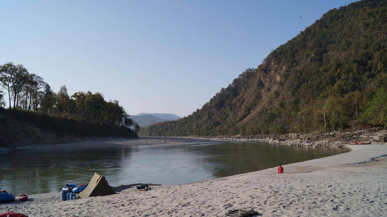 Pancheshwar to Tanakpur  River Rafting in India