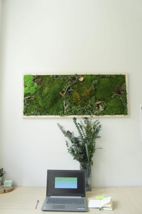 Jardin vertical interior oficina