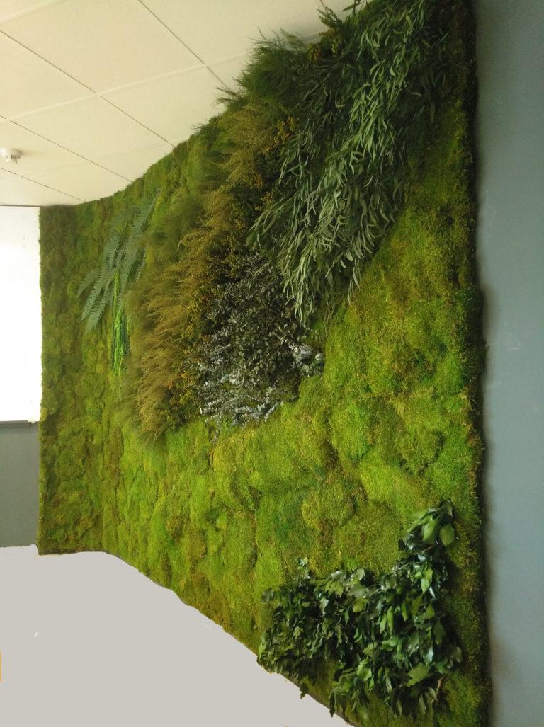 Jardin vertical oficina