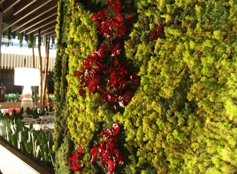 Jardin vertical centro comercial