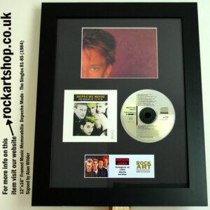 DEPECHE MODE SINGLES 81-85 CD AUTOGRAPHED BY ALAN WILDER