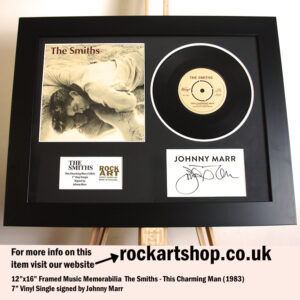 THE SMITHS THIS CHARMING MAN VINYL AUTOGRAPHED JOHNNY MARR