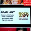 ADAM ANT SIGNED MUSIC MEMORABILIA