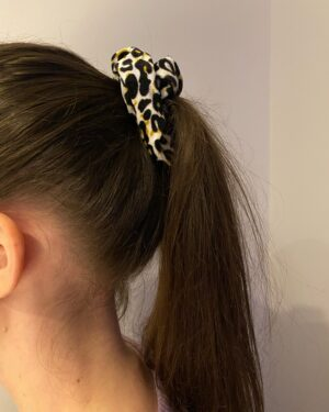 Scrunchie animal print