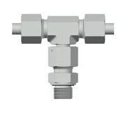 Adjustable Branch Tee Fittings with Swivel Nut