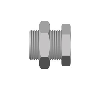PN-Parallel/Taper Bulkhead Adaptor