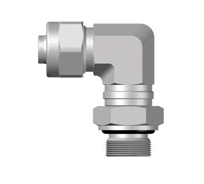 PNO-Parallel Male  Swivel Elbow