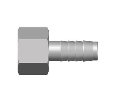 PN - Hose Tail Parallel Female Adaptor