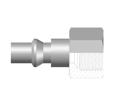 Female Plug, BSP, BSPT and NPT Pipe Thread