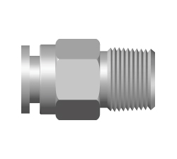 PIF-Key Way Taper Male Connector