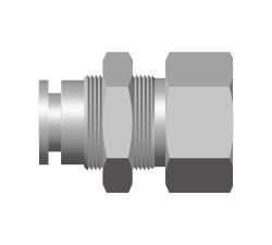 PIF-Taper Female Bulkhead Connector