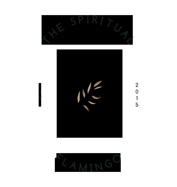 The Spiritual Flamingo logo
