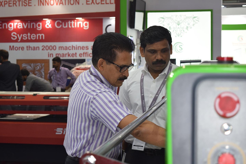 xljet lamination machine, lamination machines, b&r digitals, media expo, rajeev bhaskaran