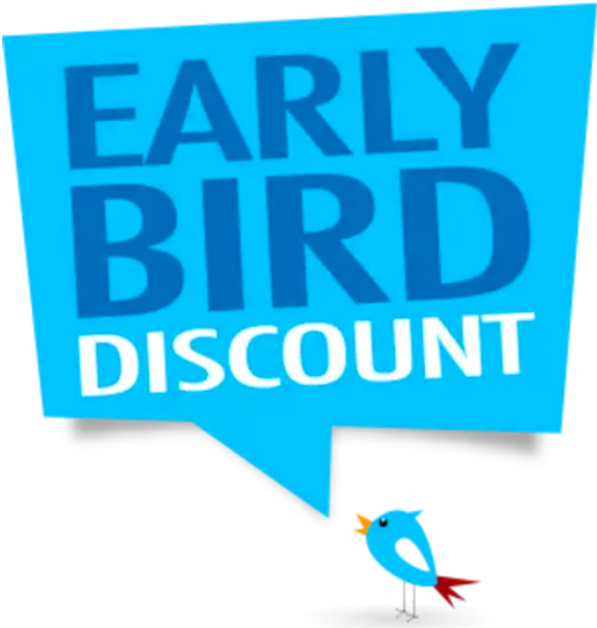 Book your tickets before the end of August and receive a 10% discount !!!