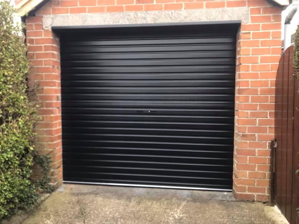 Roller door fitted