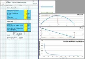 Concrete Protection Slab Spreadsheet1
