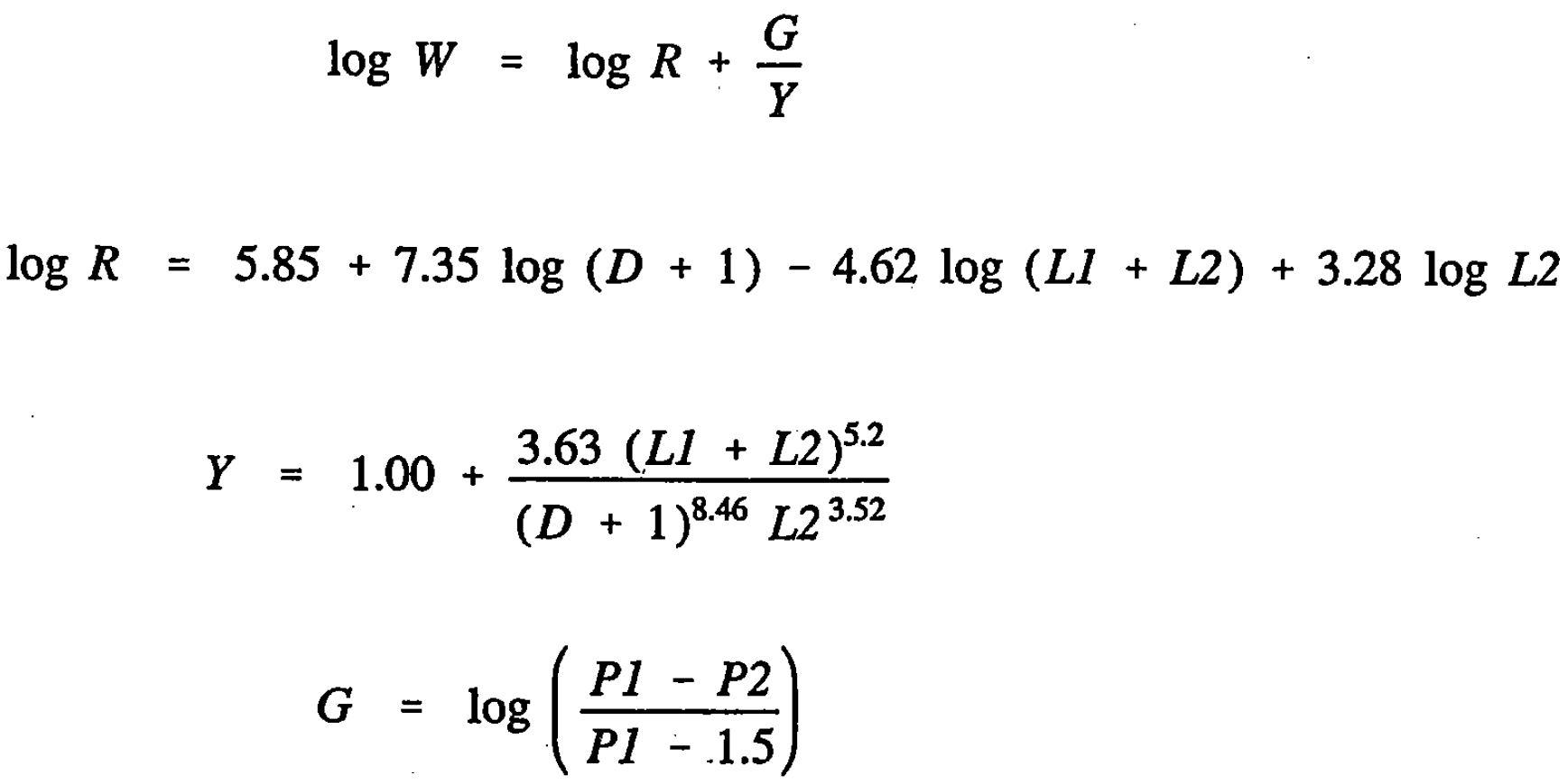 AASHTO Rigid Pavement Design Spreadsheet - Design Equation2