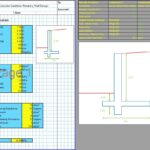 Cantilever Retaining Wall Design Excel 1