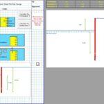 Cantilever Sheet Pile Design Excel 1