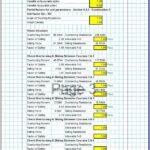 Gabion Wall Design Spreadsheet 3