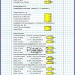 Stone Masonry Retaining Wall Design Spreadsheet 2