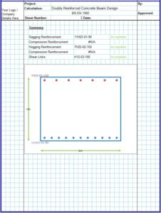 Doubly Reinforced Beam Design Excel Spreadsheet4