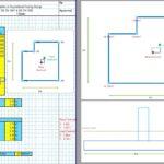 Eccentric Footing Design Excel Sheet