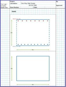 One Way Slab Design Spreadsheet4