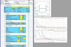 Base Plate Design Spreadsheet - Moment & Tension 1