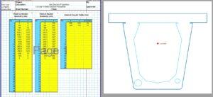 Built Up Section Properties Calculator Spreadsheet - Circular Voids1