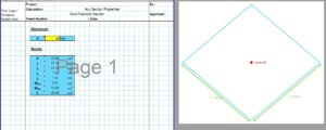 Moment of Inertia of Square Section - Diamond