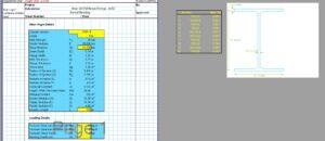 Steel Beam Design Spreadsheet - AISC W Section1