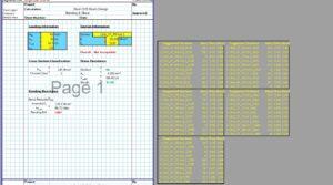 Steel Beam Design Spreadsheet - CHS1