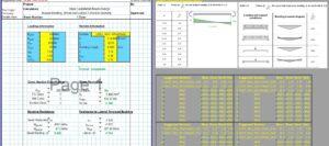 Steel Beam Design Spreadsheet - Castellated
