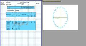 Steel Beam Design Spreadsheet - EHS2