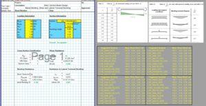 Steel Beam Design Spreadsheet - I Section 1