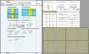 Steel Beam Design Spreadsheet - RHS1