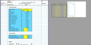 Steel Column Design Spreadsheet - AISC Box HSS1