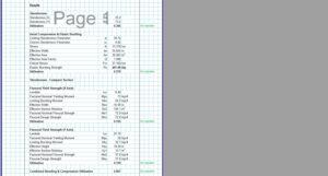 Steel Column Design Spreadsheet - AISC Box HSS2
