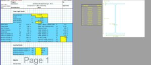 Steel Column Design Spreadsheet - AISC W Section1