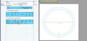 Steel Column Design Spreadsheet - CHS2