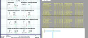 Steel Column Design Spreadsheet - I Section2