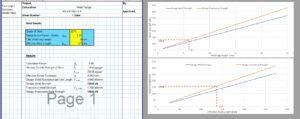 Weld Design Spreadsheet - Fillet Weld Design