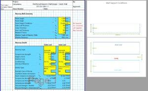 Reinforced Masonry Wall Design Spreadsheet 01