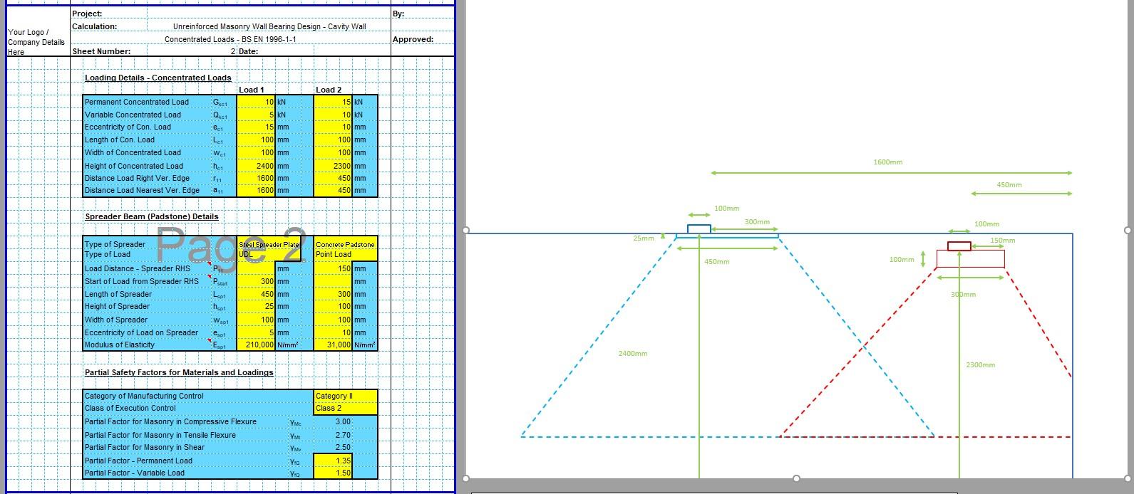 Padstone Design Spreadsheet 02
