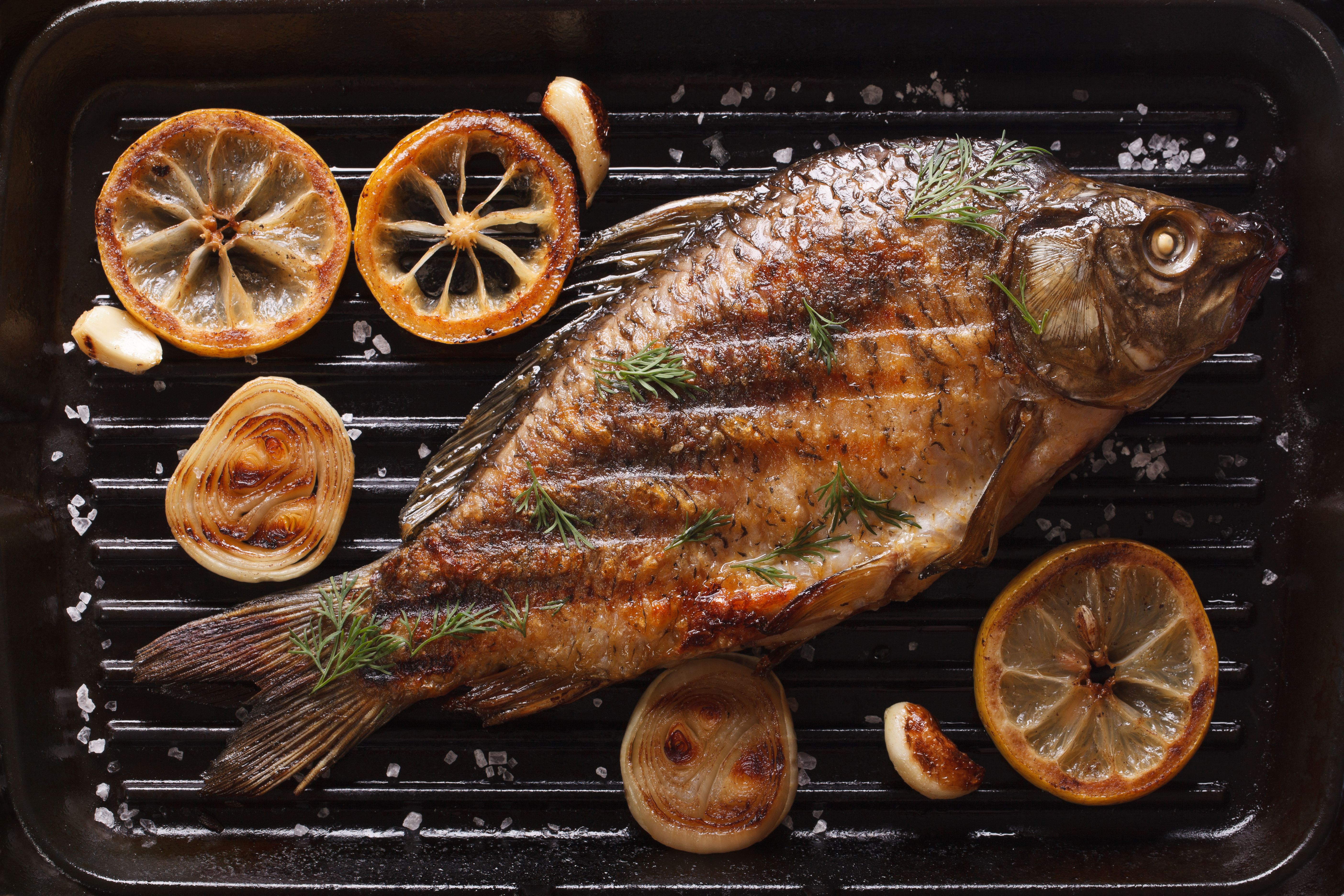 An Easy to Follow Step by Step Procedure of How to Grill a Whole Fish
