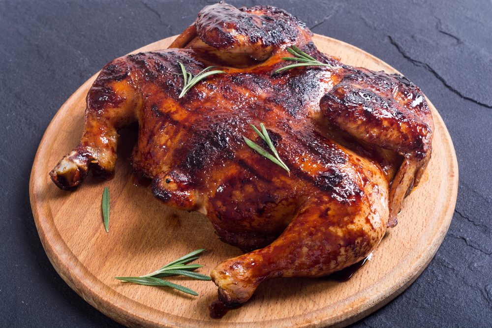 How to Grill a Whole Chicken Crispier