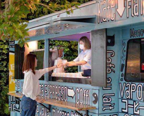 Botanica beverage truck