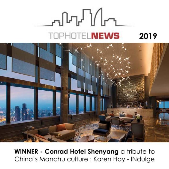 TOP HOTEL AWARD 2019 CONRAD INDULGE