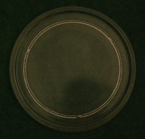 MICROWAVE TURN TABLE GLASS DIAMETER 9.5 INCHES